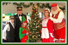 Santa Day Pavilion Train 2015