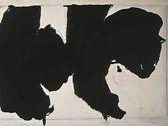 Robert Motherwell - Reconciliation Elegy - Detail 3
