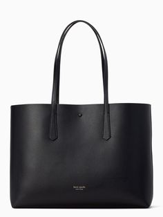 Shop the black molly large tote at Kate Spade New York official UK website. Explore our latest collection of ks-handbags online now. Kate Spade Large Tote, Kate Spade Tote Bag, Kate Spade Handbags, Fashion Handbags, Fashion Bags, Fashion Ideas, How To Make Handbags, Black Leather Bags, Everyday Bag