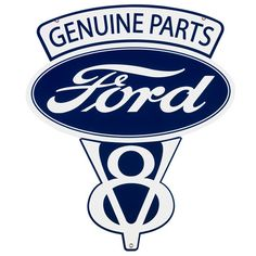 281 Collectibles - X Vintage Ford Parts Metal Sign Car Signs, Garage Signs, Garage Art, Garage Tools, Ford Emblem, Vintage Signs, Vintage Ads, Antique Signs, Vintage Graphic