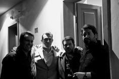 @ Teatro Garcia de Resende (Évora). Meus irmãos! Henrique Leitão, Pedro Calado e Carlos Menezes