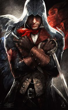 Thank You for stopping by, viewing, and following my boards! I have no limits on repinning because I believe the heart and soul of pinterest is about sharing freely.  (Arno Victor Dorian, Assassin's Creed Unity)