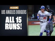 Dodgers Nation, Baseball Playoffs, Game 3, Los Angeles Dodgers, Baseball Cards, Running, Boys, Youtube, Sports