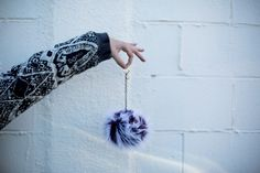 DIY Gift idea: Furry Monster Keychains! Get the tutorial here and give the gift of fuzziness this holiday!