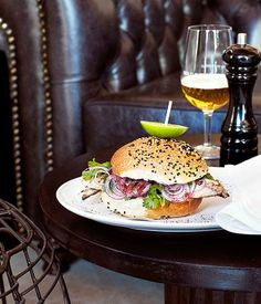 Australian Gourmet Traveller recipe for Bosphorus fish sandwiches. Gourmet Sandwiches, Wrap Sandwiches, Sandwich Recipes, Tostadas, Fish Sandwich, Sandwich Bar, Recipe Search, Just Cooking, Different Recipes