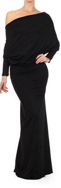 OOH LA LA BLACKS CONVERTIBLE MULTI WAY Maxi Dress