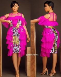 83 Edition Of - Trendy Aso ebi styles for a fabulous new year season 2020 Outfits) African Lace Styles, Ankara Short Gown Styles, Short African Dresses, Latest African Fashion Dresses, African Print Dresses, African Print Fashion, Africa Fashion, African Fashion Traditional, African Attire