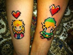 Here are some 25 geekiest gamer tattoos just for you! Legend Of Zelda Tattoos, Gamer Tattoos, Design Tattoo, Tattoo Designs, Body Art Tattoos, New Tattoos, Tatoos, Color Tattoos, Bird Tattoos