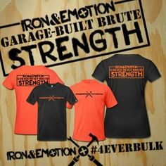 BRAND NEW IRON&EMOTION TEE DESIGN GARAGE-BUILT BRUTE STRENGTH #GARAGEBUILTBRUTESTRENGTH inspired by @lil_she_beast AVAILABLE NOW FOR 20 PERCENT OFF 20%OFF ALL PREMIUM TEES CHECKOUT CODE: 20JIVE #orangeisthenewblack #orange #teamforeverbulk #tshirt #powerlifting #FlexFriday #tshirtday #bodybuilding #weightlifting #strongman #crossfit #fit #flex  US: http://ironemotion.spreadshirt.com/  IF YOU'D LIKE A SHOUTOUT, TAG THE @IRONANDEMOTION #IRONANDEMOTION PAGE IN A PHOTO OF YOU WEARING OUR GEAR…