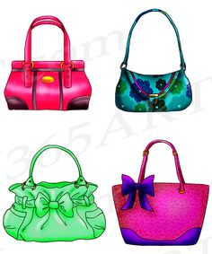 Purses | Purse clipart | Pinterest | Purses