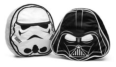 Check out the Star Wars Throw Pillow Set. Featuring the helmets of both Darth Vader and a Stormtrooper, these plush cushions are a perfect way for you to express your fandom.