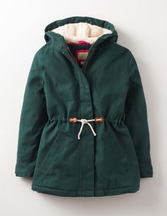 Mini Boden Cosy Parka Pine Girls Boden, Pine 35731074 From a woodland stroll to the walk to school, this hooded parka has you covered. The warm shaggy lining provides extra cosiness, while the drawstring waist and double fastenings (poppers and a zip) ma http://www.MightGet.com/january-2017-13/mini-boden-cosy-parka-pine-girls-boden-pine-35731074.asp