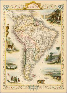 South America (1851)