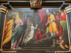 #milano  (#italy ) - Presentation of Jesus at the temple by Camillo #Procaccini #baroque #barocco #barock #mailand #artinitaly #italianart #milanodavedere #art #kunst