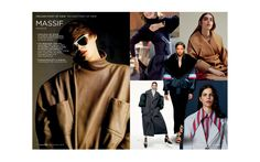 SENSUOUS SMART Influenced by current feminism, the sartorial wardrobe dresses committed women always on the go. Peclers Paris, Fall Sweaters, Feminism, Cool Style, Personal Style, 18th, Winter, Casual, Fashion Trends