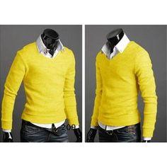 mens Casual Sweater Cardigan