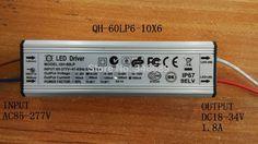 Дешевое Водонепроницаемый из светодиодов драйвер 60 Вт 1.8A 6 10X6 Qihan жилья нет строб PF0.95 постоянный ток питания освещения трансформатора, Купить Качество Трансформаторы непосредственно из китайских фирмах-поставщиках:    Потому что плата за регистрацию и вес упаковки, больше количества, дешевле стоимость доставки за 1 шт.. Ниже пр