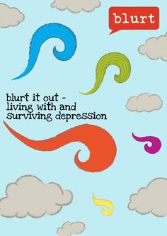 Drumroll please! Our first eBook has almost landed.  For a limited time, we are offering pre-orders on a 'pay what you can' basis.   Pre-order your copy here --> http://blurtitout.org/the-book/  People from all walks of life have come together to share their experiences of depression and recovery. Expect lots of head-nodding as their experiences and descriptions resonate with you. Insightful, raw and honest.