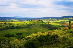 Tuscany--I think it must be one of the greatest places!