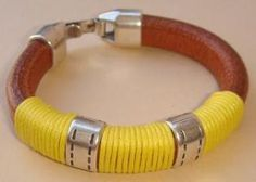 Leather bracelet - 22,50€ - www.yucamar.blogspot.com