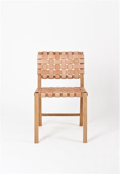 Leather Weave Chair
