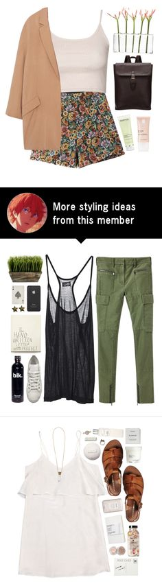 """""""Why don't you remember my name?//"""" by nandim on Polyvore featuring Dot & Bo, Chicnova Fashion, Topshop, MANGO, Darphin and La Roche-Posay"""
