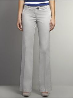 The Curvy Bootcut Twill Pant