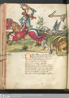 40 [18v] - Ms. germ. qu. 12 - Die sieben weisen Meister - Page - Mittelalterliche Handschriften - Digitale Sammlungen Frankfurt, 1471