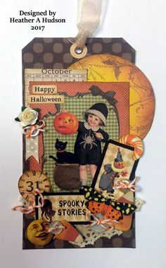 Vintage Halloween Butterfly Calendar Candy Corn Pumpkin Moon | Etsy Vintage Halloween Cards, Halloween Paper Crafts, Halloween Tags, Halloween Home Decor, Halloween Pumpkins, Fall Halloween, Happy Halloween, Halloween Stuff, Image Collage