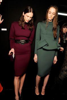 Lanvin Fall 2012 Ready-to-Wear Fashion Show Beauty