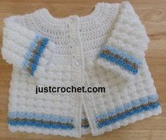 You're going to love FJC07-Textured Coat baby crochet pattern by designer justcrochet. - via @Craftsy - ****Updated 2/2015****