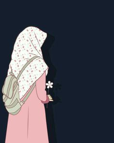 I love hijab . Muslim Pictures, Muslim Images, Islamic Pictures, Hijabi Girl, Girl Hijab, Beautiful Muslim Women, Beautiful Hijab, Tmblr Girl, Hijab Drawing