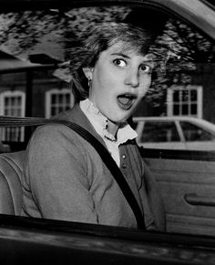 Lady Diana Spencer before she was married
