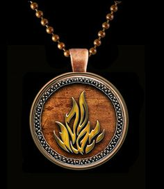 Dauntless the Brave pendant set in Copper with by Keukasigns, $10.00 I am getting this soon!
