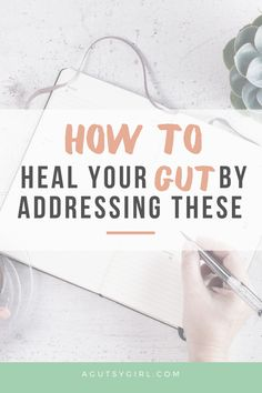 How to Heal Your Gut by Addressing These agutsygirl.com #guthealth #thyroid #stress #leakygut Leaky Gut Diet, Gut Microbiome, Adrenal Fatigue, Chronic Fatigue, Healing Words, Medical Advice, Gut Health, Natural Medicine, Thyroid