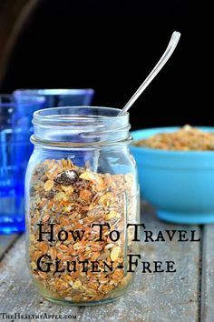 How To Travel Gluten-Free via TheHealthyApple.com #glutenfree #gfree #gf #celiac #travel #traveling #snacks #healthy #healthyfood Lactose Free, Gluten Free Diet, Gluten Free Cooking, Foods With Gluten, Dairy Free, Cooking Recipes, Diet Recipes, Vegan Recipes, Healthy Travel Snacks
