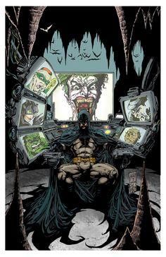 Batman-Rogues by Ken Hunt