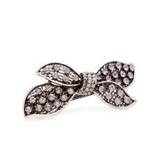 Brimming in detail, the Jessi Barrette features scattered circular silver grey CZ's set against an edgy web of metal. We love the look of mo...