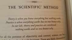 The scientific method- source unknown- via (5) Twitter