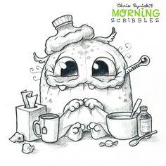 Somemonster is sick. :^D