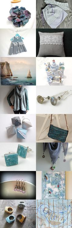 Labradorite blue by Agnieszka on Etsy--Pinned with TreasuryPin.com
