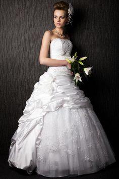 Wedding Dresses + Bridal Hairstyles