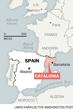 What's next for Catalonia, the Spanish region that wants to be Europe's next nation - washingtonpost.com, September 29