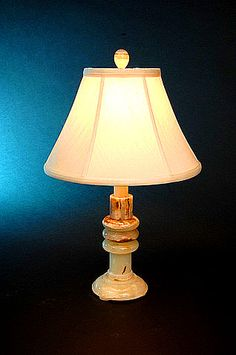"Chartreuse 21.25"" H Table Lamp with Bell Shade"