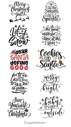 Free Christmas Quotes Design Bundle is part of Christmas svg - Noel Christmas, Christmas Projects, Christmas Vinyl, Christmas Design, Christmas Fonts, Cricut Christmas Ideas, Christmas Plaques, Free Christmas Printables, Christmas Mood