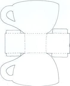 koffie-/thee kop kaart