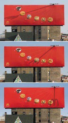 Sundial billboard. Cool!