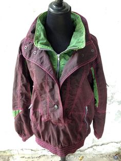 VTG 90s Super Rad Acid Wash Windbreaker by thatVideoVAMPvintage