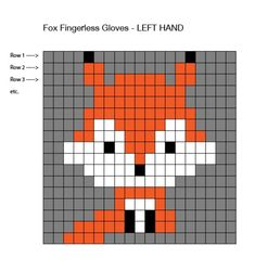 Two Needle Socks – Free Knitting Pattern Fingerless Gloves Crochet Pattern, Crochet Mittens, Knitted Gloves, Baby Knitting Patterns, Knitting Charts, Knitting Toys, Fair Isle Knitting, Free Knitting, Crochet Fox
