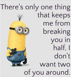 There's only 1 thing funny quotes quote crazy funny quote funny quotes humor minions